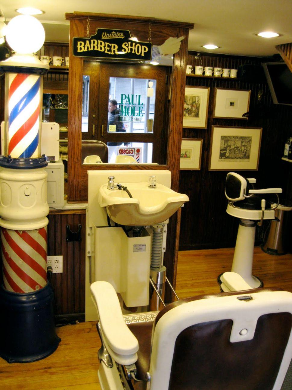 Paul Molé's Barbershop Quartet: Fourth Location Marks 100th Year