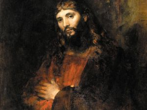 """Rembrandt's """"Christ with Arms Folded,"""" ca. 1657-1661, in the Hyde Collection. (Courtesy Hyde Collection)"""