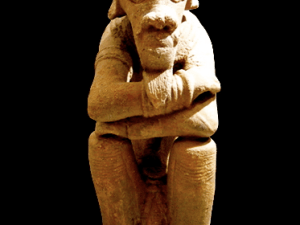 An example of ancient Nok sculpture (Courtesy The Barakat Gallery)
