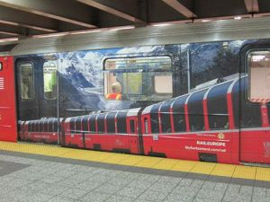 The newly decked-out S train