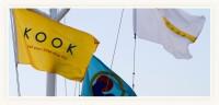 The dread pirate ship Surf Lodge flies its flag.