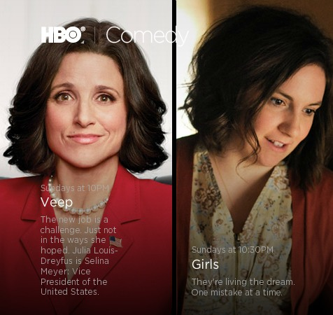 HBO Renews Girls After Three Episodes, Veep After Two
