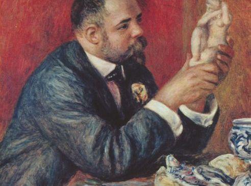 "Pierre-Auguste Renoir's ""Portrait of Ambroise Vollard,"" 1908. (Courtauld Institute Galleries/Wikipedia)"