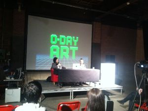 0-Day at Eyebeam (Photo courtesy The Observer)