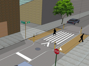 Coming to a Midtown intersection near you. (NYC DOT)