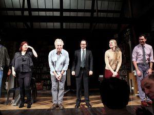 The original cast of 'Seminar' takes a bow (Getty)