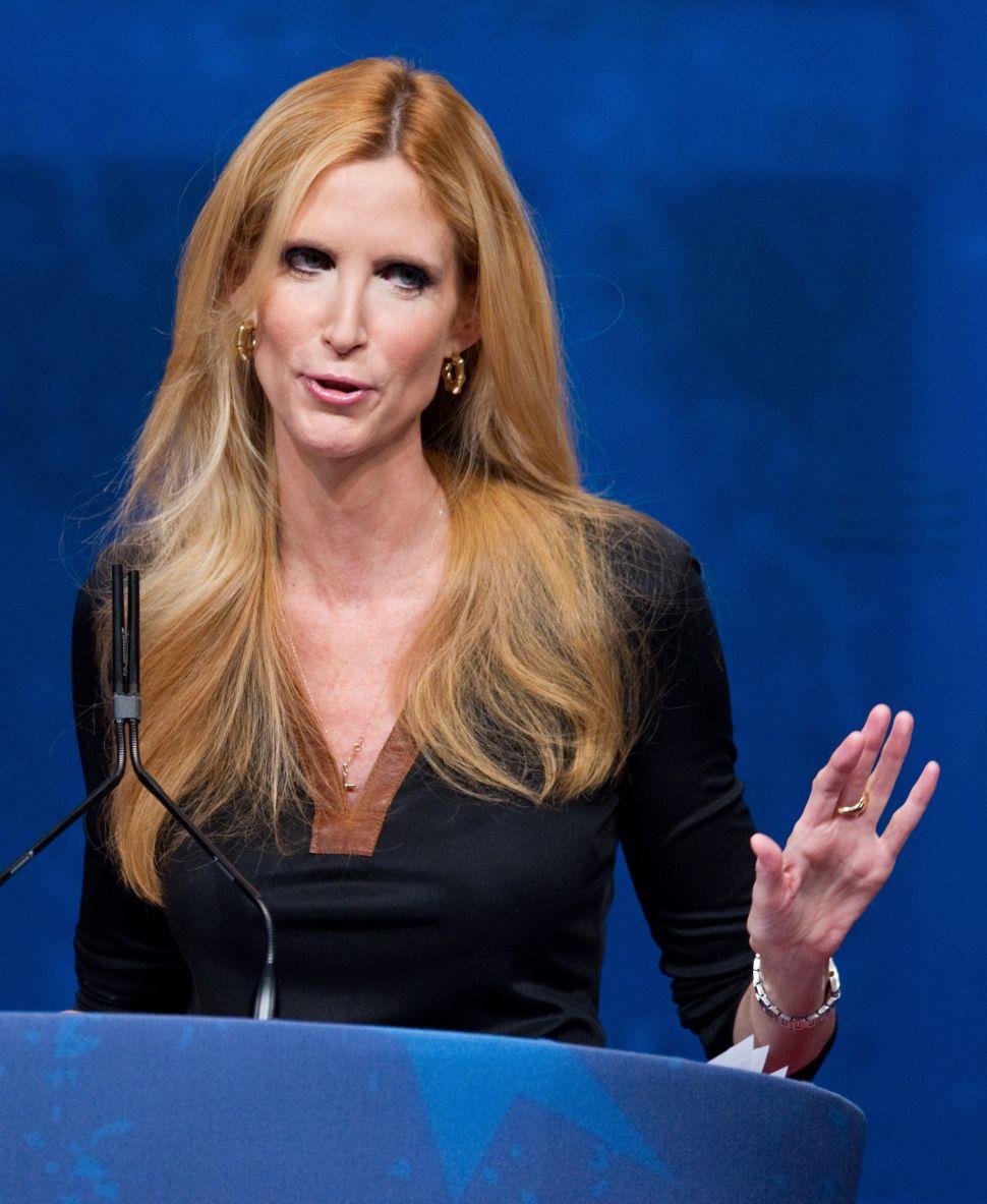 Ann Coulter Responds To Furor Over Her Blind Man Joke By Making More Blind Man Jokes
