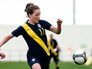 Swedish soccer player Antonia Goransson (Getty Images)
