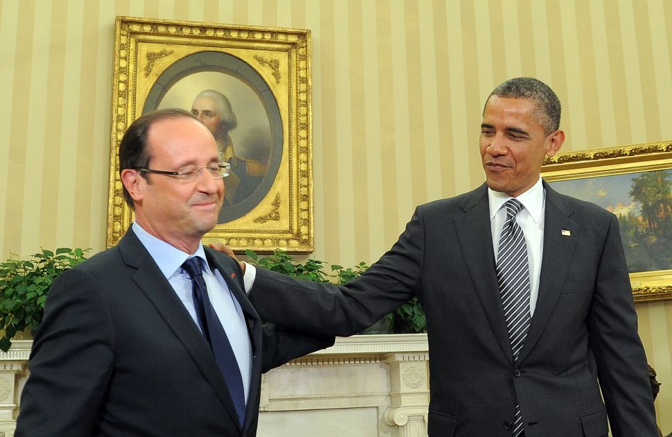 On First U.S. Visit, New French President Vows To Support Cheeseburgers