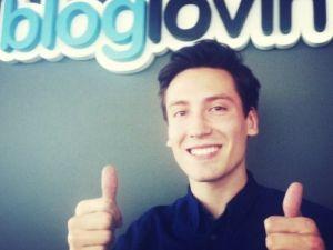 Mattias Swenson, one of Bloglovin's cofounders. (linkedin.com)
