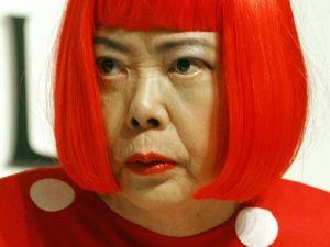 Japanese artist Yayoi Kusama. (Courtesy Getty Images)