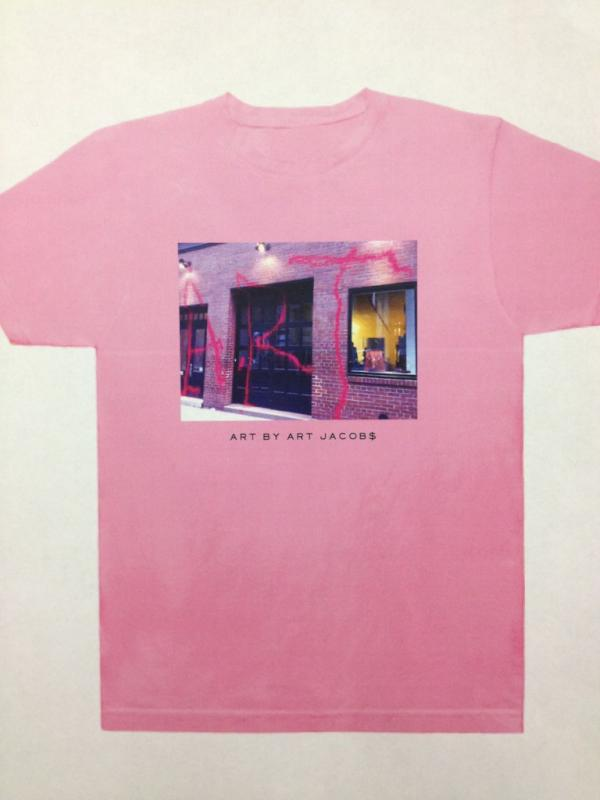 Marc Jacobs vs. The Graffiti Artist, Round 2: When Jacobs Turns Vandalized Store Into $680 Shirt