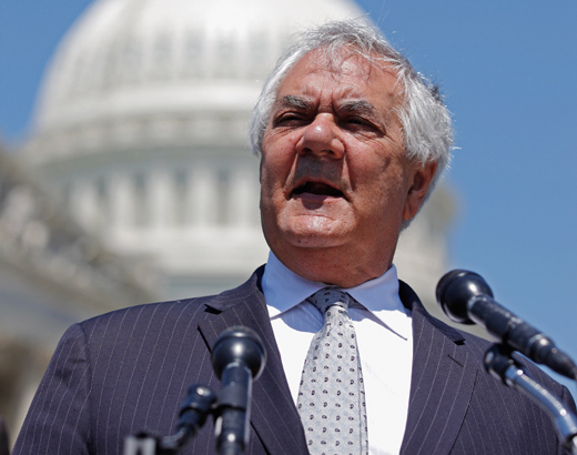 Barney Frank Blasts 'Crazy Tea Party Republicans,' With 'Cockamamie Ideas' And 'Crazy Fat Cat Friends'