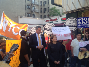 Elected officials recently rallied in East Harlem
