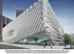 Mock-up for the Broad museum in downtown Los Angeles. (Courtesy Broad Art Foundation)