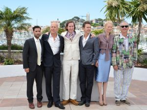 Jason Schwartzman, Bruce Willis, Wes Angerson, Ed Norton, Tilda Swinton and Bill Murray (Getty Images)