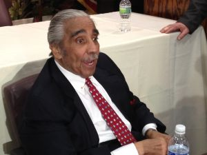 Charlie Rangel at his campaign launch a few weeks ago. (Photo: Hunter Walker)