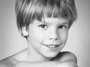 Etan Patz as taken by his father, Stanley Patz in 1979. This photograph was taken from Wikipedia where it is listed under a Creative Commons attribution license.