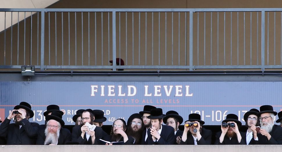 Ultra-Orthodox Jews Take a Hard Line on the Internet at Rally of 40,000 Men (And Me)