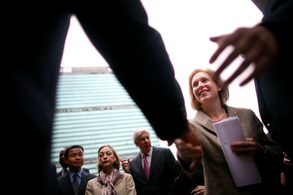 Kirsten Gillibrand Backs Rangel's Favored Successor for Congress