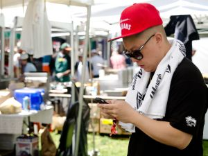 Eddie Huang at GoogaMooga.