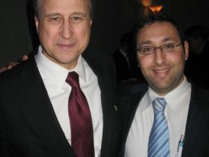 New York GOP Chair Ed Cox and Joseph Hayon (Photo: Facebook)