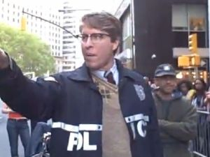Hipster Cop loses hipster vote (YouTube)