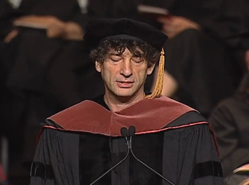 Dissecting Neil Gaiman's Commencement Speech: Lying, Lateness, and Other Ways to Succeed in Freelancing (Video)