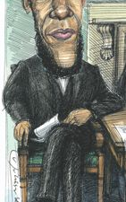 Obama as Lincoln