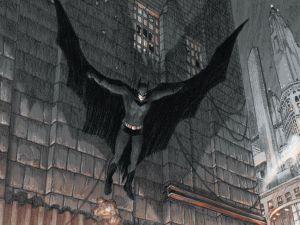 I am Kimmelman... I mean Batman. (i09)