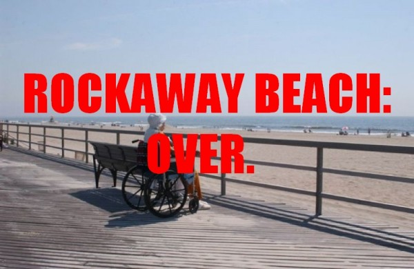 NYT Styles Assists in Destruction and/or Popularity of Rockaway Beach, Continuing Unabated
