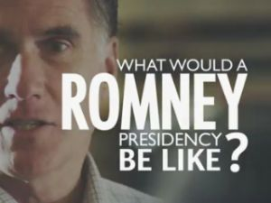 "Mitt Romney appearing in ""Day One, Part Two."" (Photo: YouTube)"