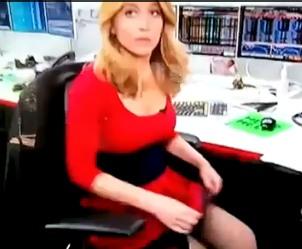 Meet Sara Eisen, Bloomberg TV's Upskirted Employee (Video)