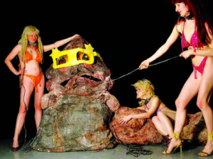 Spartacus Chetwynd, An Evening with Jabba the Hutt (Courtesy BBC)