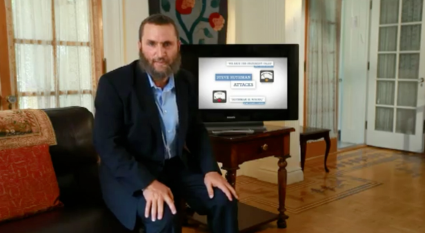 Rabbi Shmuley Donates $250 To His Opponent In The Hopes Of Securing a 'Dinner Date'
