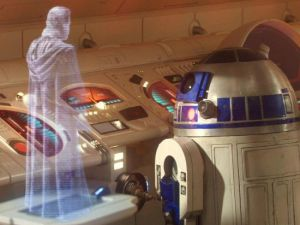 No word yet on whether R2D2 will be needed in order for the holograms to function. (digitaltrends.com)