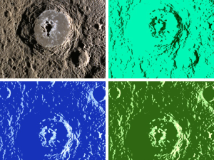 The Warhol crater. (Courteay IAU)