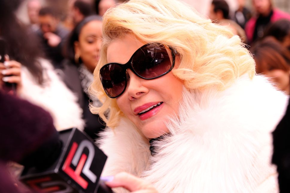 Joan Rivers and Observer; We Will Miss You