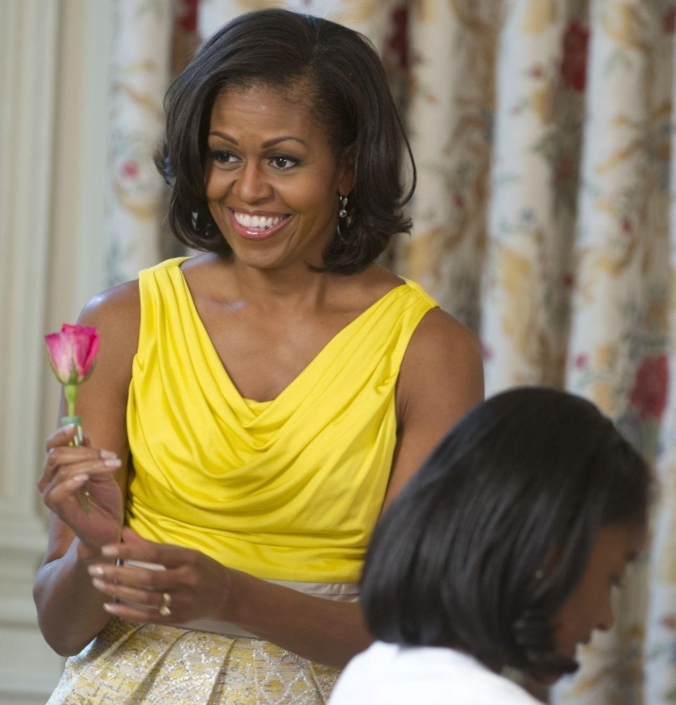 Michelle Obama: My Husband Is 'Downright Fine'