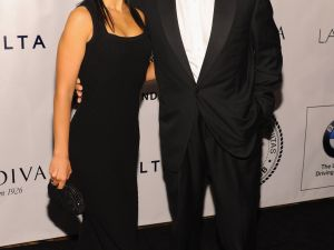 Hilaria Thomas and Alec Baldwin...almost newlyweds! (Getty Images)