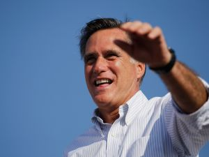 Maybe the third time is the charm for Mitt Romney (Getty)