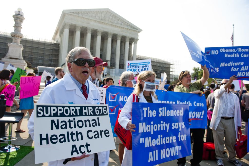 Supreme Court Upholds Most Controversial Element Of President Obama's Healthcare Law