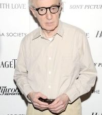 Woody Allen at the 'To Rome With Love' premiere (Patrick McMullan)