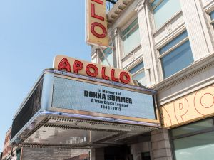 The city hopes to build a 42,000-square-foot complex down the block from Harlem's Apollo Theater, but given their track record, this might be wishful thinking.