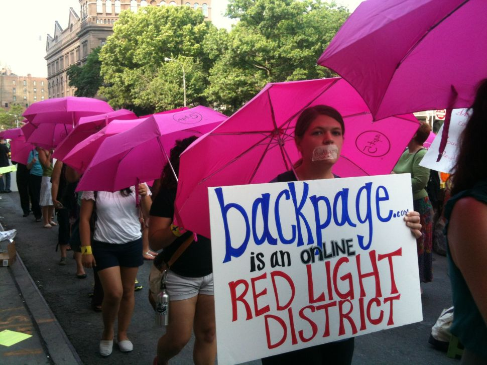 NYC Advocates: Backpage Case Will Make It Easier to Protect Children