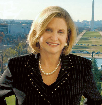Carolyn Maloney: 'Right Now, We're Marching Towards Sequestration'