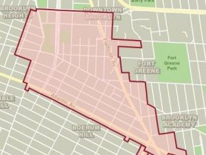 Fingers crossed: off-street parking requirements might be reduced in Downtown Brooklyn. (Photo: Department of City Planning)