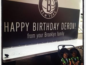 The Brooklyn Nets' parked billboard (Twitter)