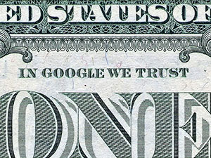 'In Google We Trust,' by Sonicbloom. (Courtesy Petapixel.com)
