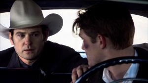 Thomas and James in The Last Ride.